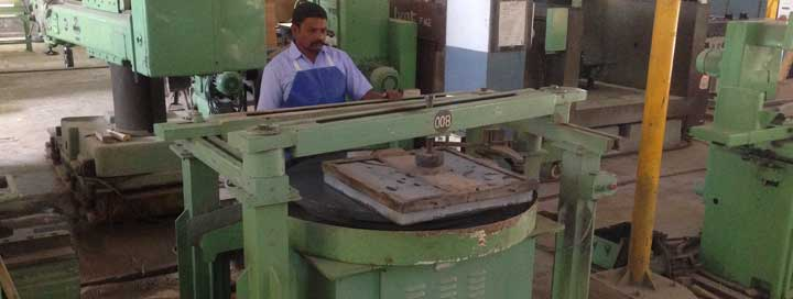 Abrasives used for granite lapping